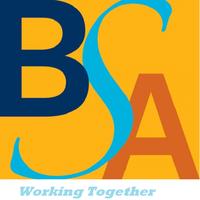 BSA logo and tagline - Working Together