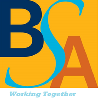 BSA logo and tagline - Working Together